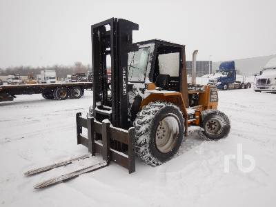 LOAD LIFTER 2215-80 10000 Lb Rough Terrain Forklift
