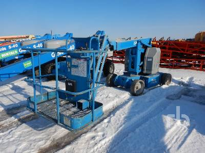 2011 GENIE Z34/22N Electric Articulated Boom Lift