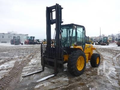 2004 JCB 930 6000 Lb 4x4 Rough Terrain Forklift