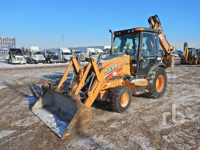 2012 CASE 580N 4x4 Loader Backhoe