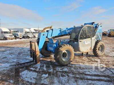 2011 GENIE GTH844 8000 Lb 4x4 Telescopic Forklift