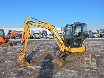 2013 KOMATSU PC35MR-3 Mini Excavator (1 - 4.9 Tons)
