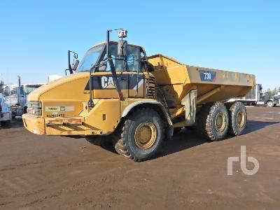 2009 CATERPILLAR 730 6x6 Articulated Dump Truck