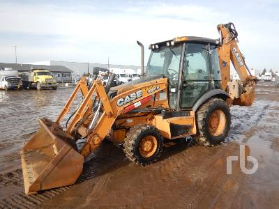 2013 CASE 580N 4x4 Loader Backhoe