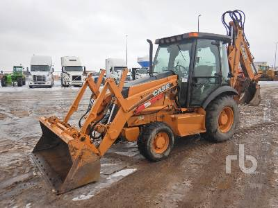 2006 CASE 580SM Series 2 4x4 Loader Backhoe