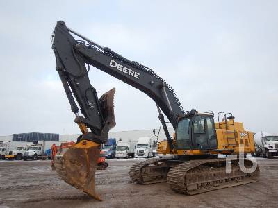 2009 JOHN DEERE 450D LC Hydraulic Excavator