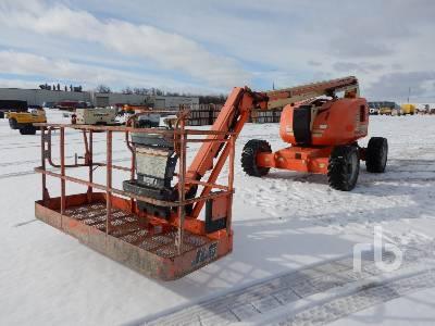 2010 JLG 600AJ Articulated Boom Lift