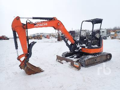 2013 HITACHI ZX50U-3 Mini Excavator (1 - 4.9 Tons)