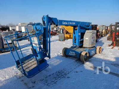 2002 GENIE Z34/22N Electric Articulated Boom Lift