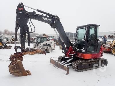 2010 JOHN DEERE 60D Midi Excavator (5 - 9.9 Tons)