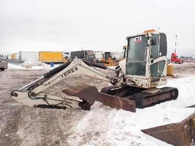 2007 TEREX TC50 Midi Excavator (5 - 9.9 Tons)