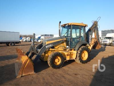 2010 JOHN DEERE 310SJ 4x4 Loader Backhoe