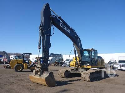 2009 JOHN DEERE 240D LC Hydraulic Excavator
