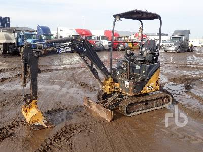 2012 JOHN DEERE 17D Mini Excavator (1 - 4.9 Tons)