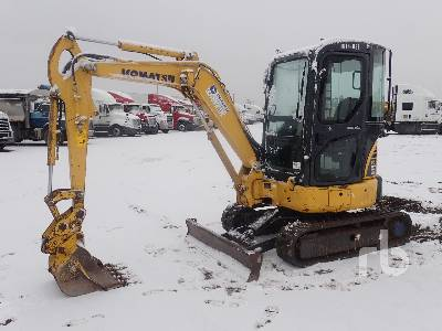 2012 KOMATSU PC27MR3 Mini Excavator (1 - 4.9 Tons)