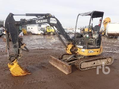 2011 JOHN DEERE 35D Mini Excavator (1 - 4.9 Tons)