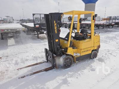 2002 HYSTER S80XM 7600 Lb Forklift