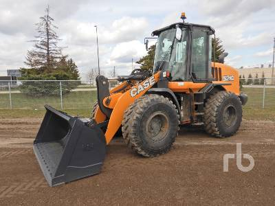 2017 CASE 521G Wheel Loader