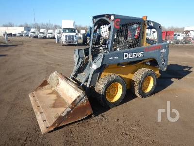 2011 JOHN DEERE 318D Skid Steer Loader