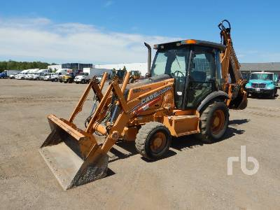 2007 CASE 580SM 4x4 Loader Backhoe