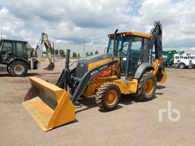 2016 JOHN DEERE 410L 4x4 Loader Backhoe