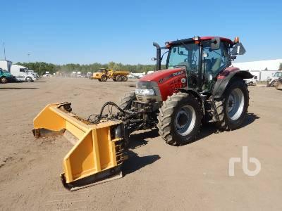 2014 CASE IH MAXXUM 120 MFWD Tractor
