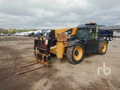 2014 CATERPILLAR TL642C 6600 Lb 4x4x4 Telescopic Forklift