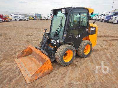 2013 JCB 175 2 Spd Skid Steer Loader