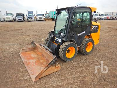 2013 JCB 205 2 Spd Skid Steer Loader