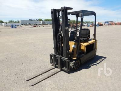 2000 CATERPILLAR EP18KT 3500 Lb Forklift