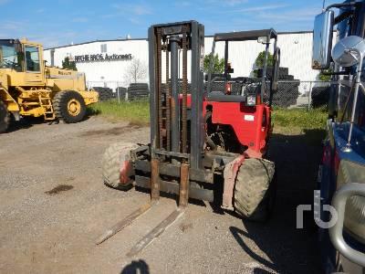 2013 MOFFETT M8 50.3 5000 Lb Piggy Back Forklift