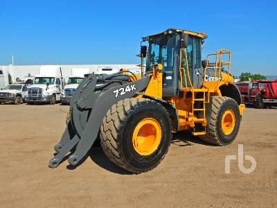2012 JOHN DEERE 724K Wheel Loader