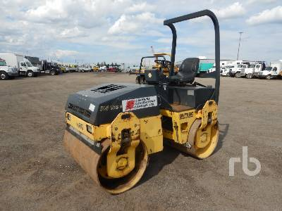 2004 BOMAG BW138AD Tandem Vibratory Roller