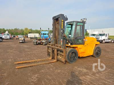 2006 HYSTER H280HD 25650 Lb Forklift