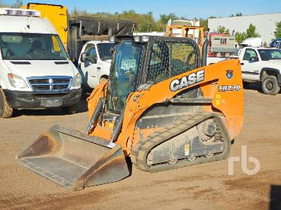 2015 CASE TR270 2 Spd Compact Track Loader