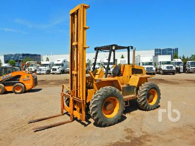 1987 LIFTKING LK8P44 4000 Lb Rough Terrain Forklift