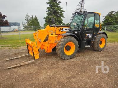 2017 JCB 533-105 7275 Lb 4x4x4 Telescopic Forklift