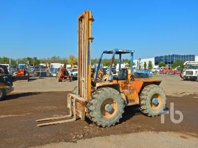 1997 OMEGA 44236.5 5000 Lb 4x4x4 Rough Terrain Forklift