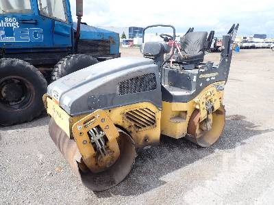 2014 BOMAG BW120AD Tandem Vibratory Roller