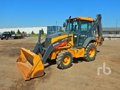 2016 JOHN DEERE 310SL 4x4 Loader Backhoe