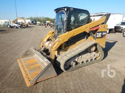 2014 CATERPILLAR 289D 2 Spd High Flow Compact Track Loader