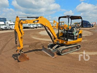 2012 CATERPILLAR 302.5C Mini Excavator (1 - 4.9 Tons)