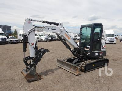 2018 BOBCAT E42 Mini Excavator (1 - 4.9 Tons)