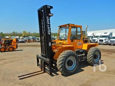 2008 LOAD LIFTER 4422-10D 10000 Lb 4x4x4 Rough Terrain Forklift