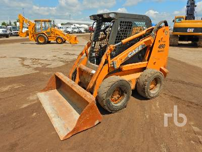 CASE 450 Series 3 2 Spd Skid Steer Loader
