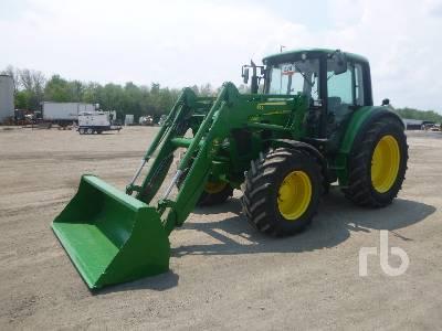 2008 JOHN DEERE 6330 Premium MFWD Tractor