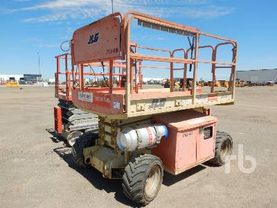2004 JLG 260MRT 26 Ft Rough Terrain Scissorlift