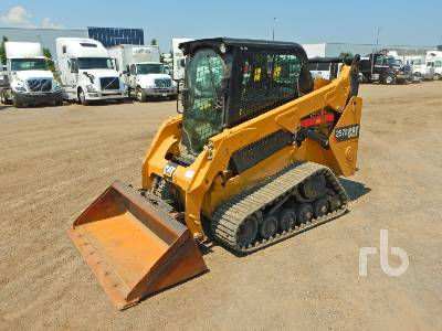 2014 CATERPILLAR 257D 2 Spd Multi Terrain Loader