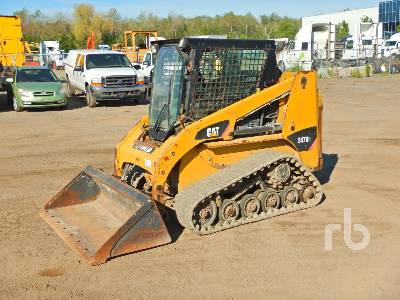 2011 CATERPILLAR 247B3 Multi Terrain Loader