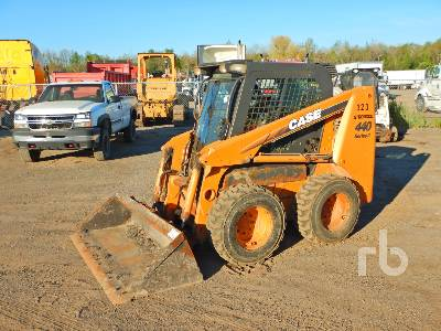 2010 CASE 440 Series 3 2 Spd Skid Steer Loader